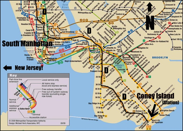 where meet someone in new york