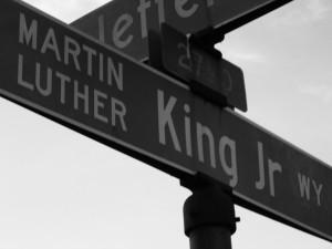 MLK Street Sign