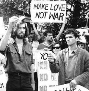 Make Love Not War.Burn Draft cards_etravelswithetrules.com